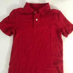 Cherokee bright red polo shirt. Sz 6-7